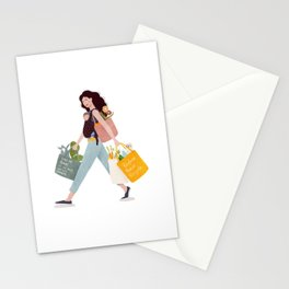 Weekend errands Stationery Cards