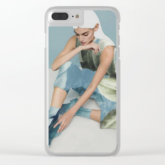 WOMAN 22a Clear iPhone Case
