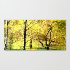 Frühling im Park. Canvas Print