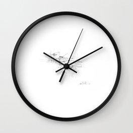 Fallingwater -  Frank Lloyd Wright Wall Clock