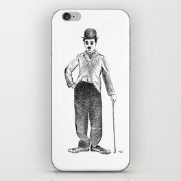 Charlie Caplin iPhone Skin
