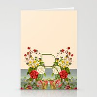 botanical Stationery Cards featuring Botanical by Blue Jean Genie