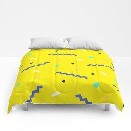 Memphis pattern 56 Comforters