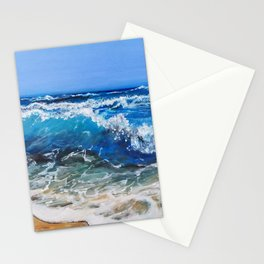 Rough Sea Stationery Cards