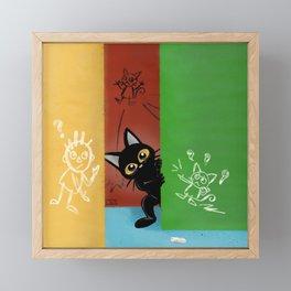Doodles Framed Mini Art Print