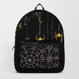 Halloween Spider Web Backpack