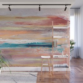 Rock Study in Pinks Wall Mural