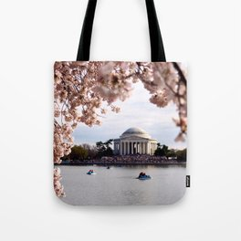 Cherry Blossoms of DC Tote Bag
