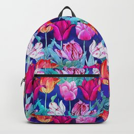 Tulips field Backpack