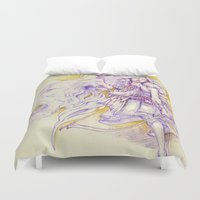 archer Duvet Covers featuring Lion's Archer by Zien-Art