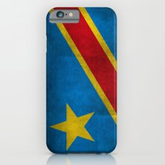 National flag of the Democratic Republic of the Congo, Textured version (to scale) iPhone 6s Slim Case