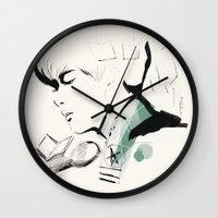 exo Wall Clocks featuring Love Me Right - Baekhyun by emametlo