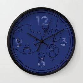 The Name of The Doctor (Gallifreyan) Wall Clock