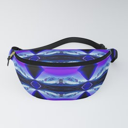 My Blue Bubble in London Fanny Pack