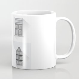 Modern Cottages Facades Collection, Residential House Buildings, Country Real Estate Flat Coffee Mug