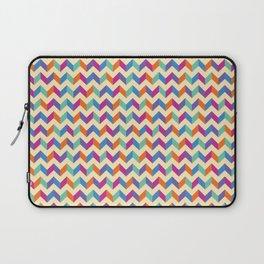 Coloured Chevron Laptop Sleeve