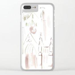 Gracie Clear iPhone Case