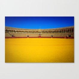Bullring arena Canvas Print