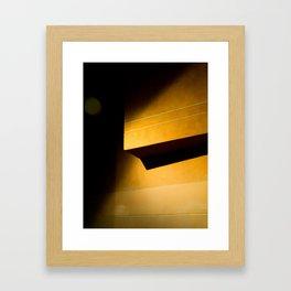 Melting dimensions Framed Art Print