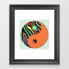 African Y&Y Framed Art Print