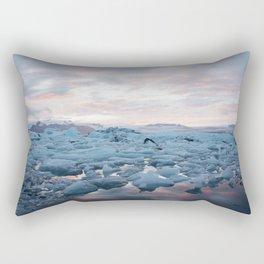 Iceberg Lagoon Rectangular Pillow