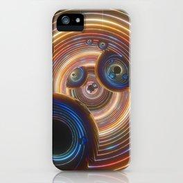 T ! M E W A R P iPhone Case