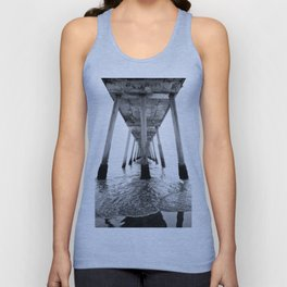 Hermosa Beach Pier Unisex Tank Top