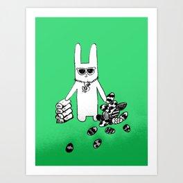 Playboy bunny Art Print