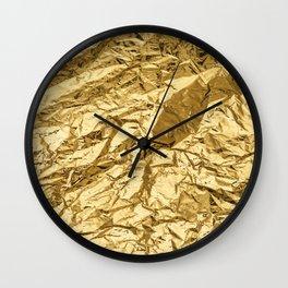 GOD GOLD! Wall Clock