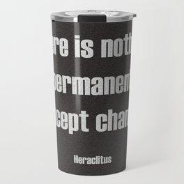 Except Change Travel Mug