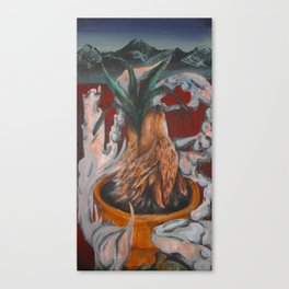 Aloe Wolf Canvas Print