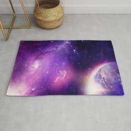 Detached in the Universe Rug