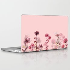 For Her ! Pink Flowers Laptop & iPad Skin