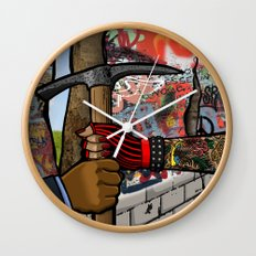 Without Borders Wall Clock