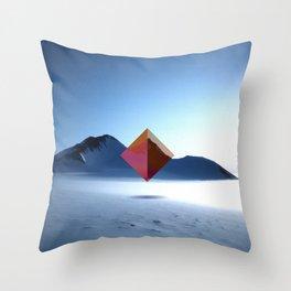 snow makes me think Throw Pillow