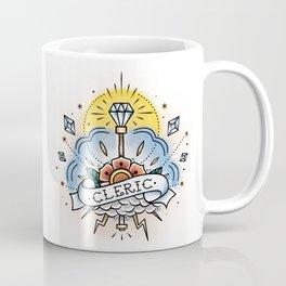 Cleric - Vintage D&D Tattoo Coffee Mug