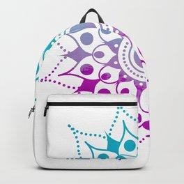 Mandala #2 (Purple Pink Turquiose) Backpack