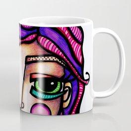 JennyMannoArt Colored Illusration/Peaches Coffee Mug