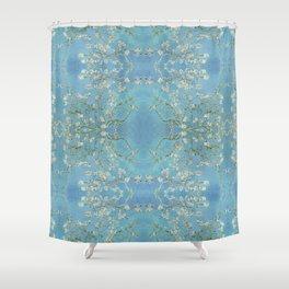 LoVinG V - light blue Shower Curtain