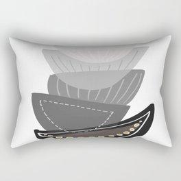 Modern minimal forms 14 Rectangular Pillow