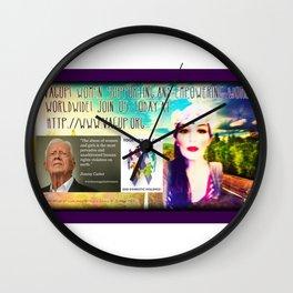 #VagUp! T-shirt Design #4 Wall Clock