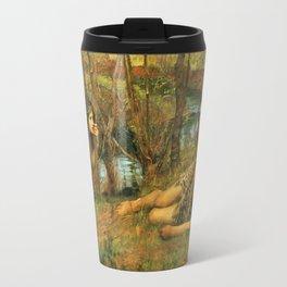 John William Waterhouse - The Naiad Travel Mug