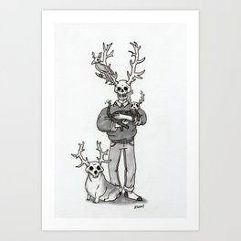 The Family Curse Art Print