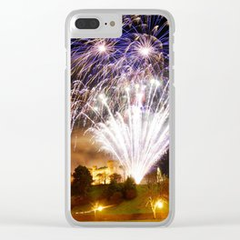 Castle Illuminations Inverness Scotland Clear iPhone Case