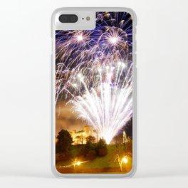 Castle Illuminations Inverness Scotland Clear iPhone Case