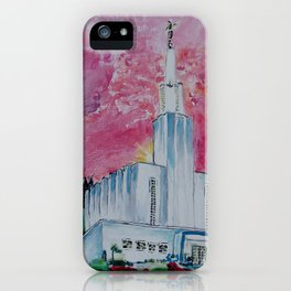 Bern Switzerland LDS Temple iPhone Case