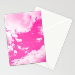 cloudy sky 3 mag Stationery Cards