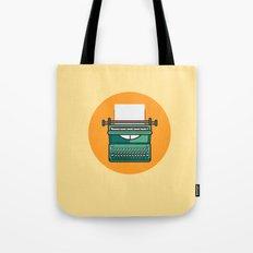 Typewriter Icon Tote Bag