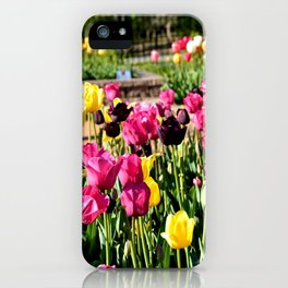 Muscogee (Creek) Nation - Honor Heights Park Azalea Festival, No. 11 of 12 iPhone Case