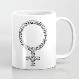 Burger Feminism Coffee Mug